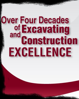 Over four decades of excavating and construction excellence